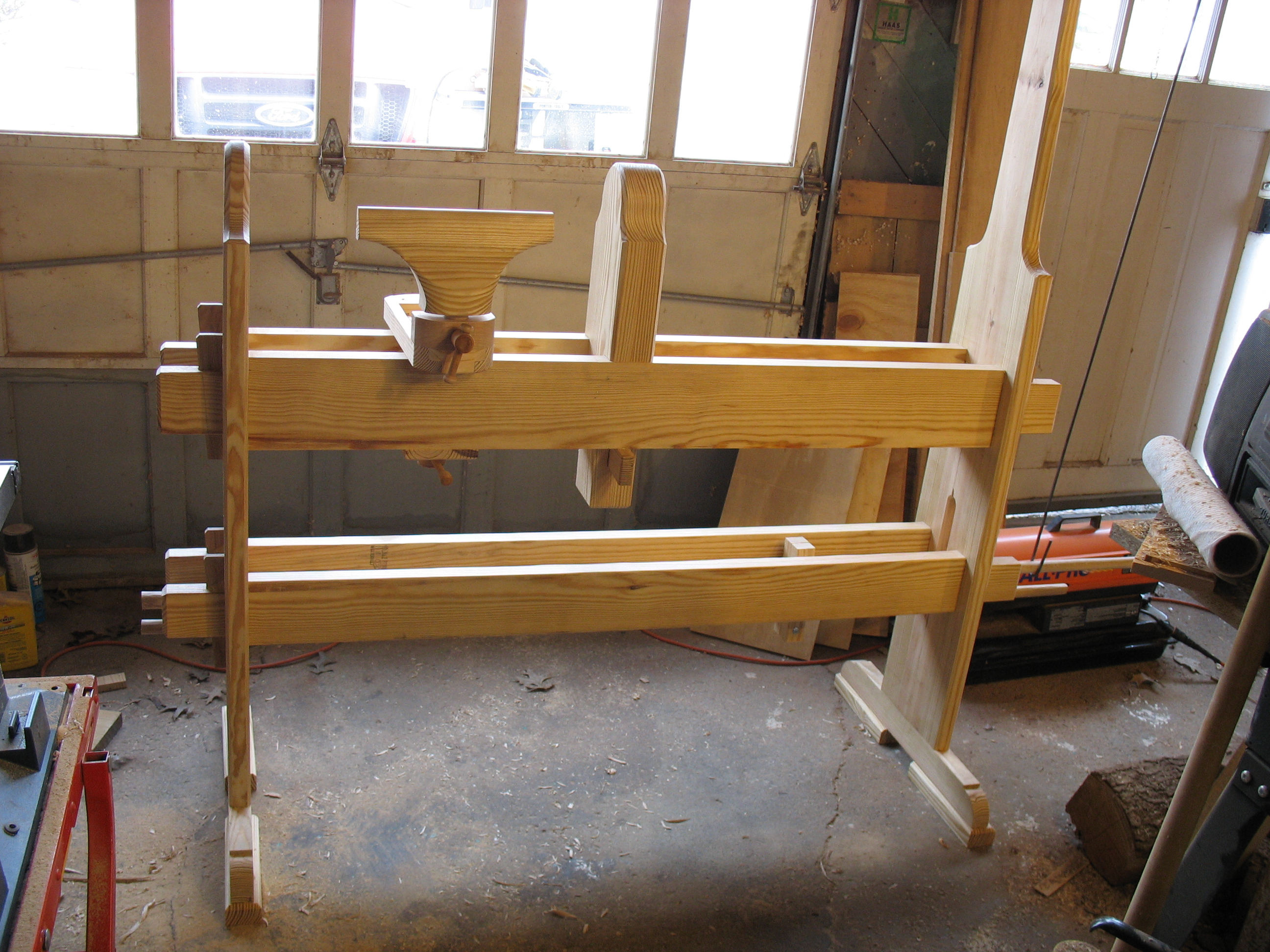 Spring Pole Lathe Details A Woodworker 39 S Musings