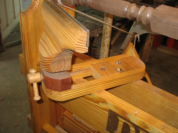 wood lathe tool rests