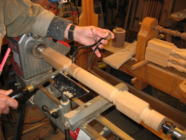 Download Wood lathe copying from template Plans DIY ...