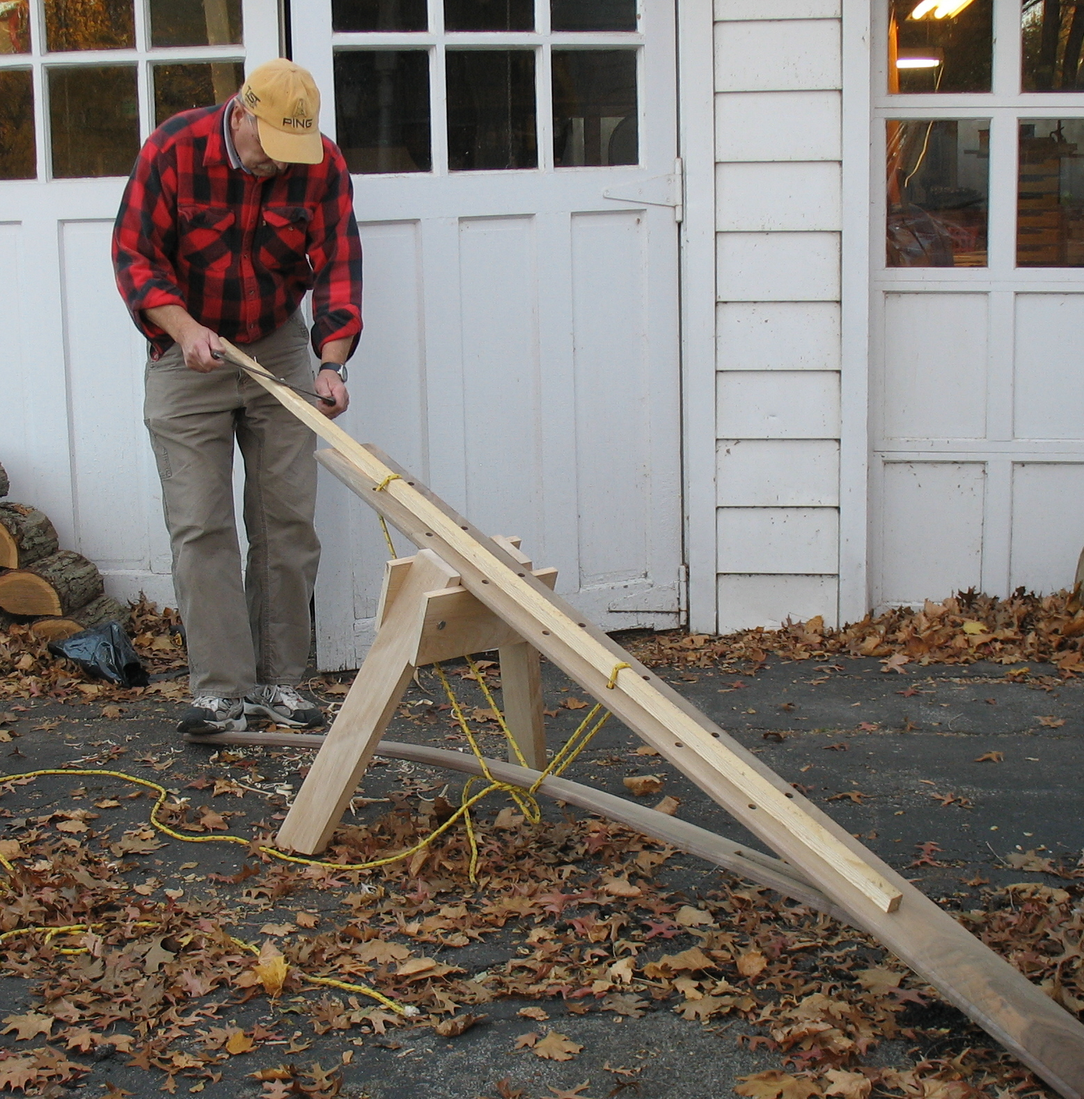 bow making bench plans