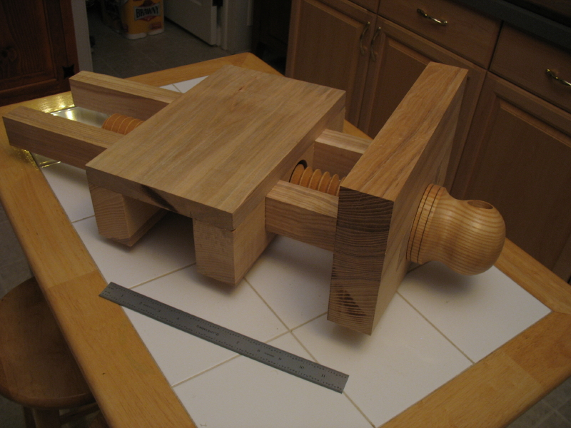 Wooden Vise Screws A Woodworker S Musings