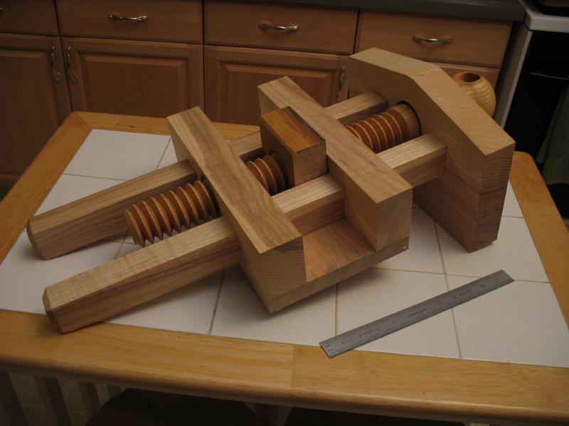 wooden vise screws