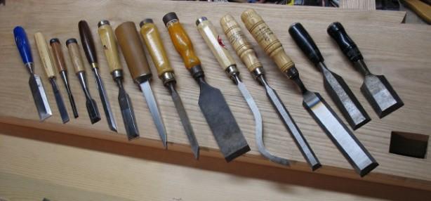 chisels wood