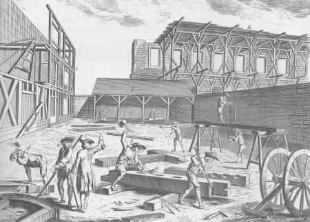 "From ""Art de la Charpente"", Diderot et D'alembert"