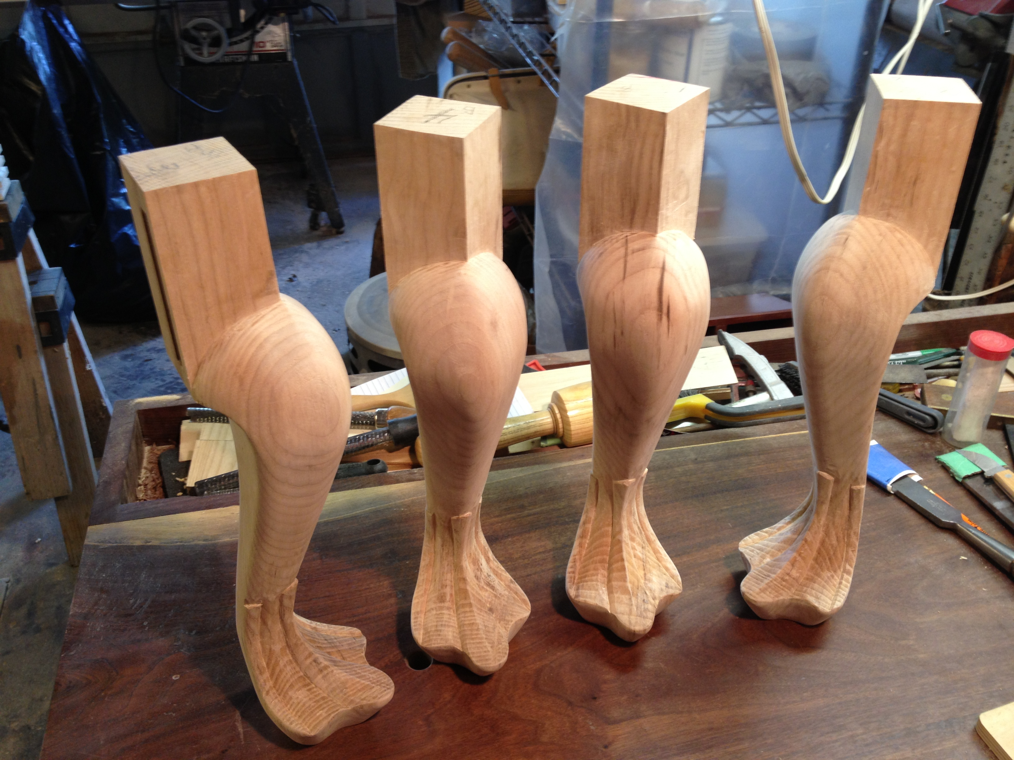 drake wood carving tools