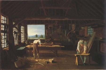 john hill carpenters shop 1813