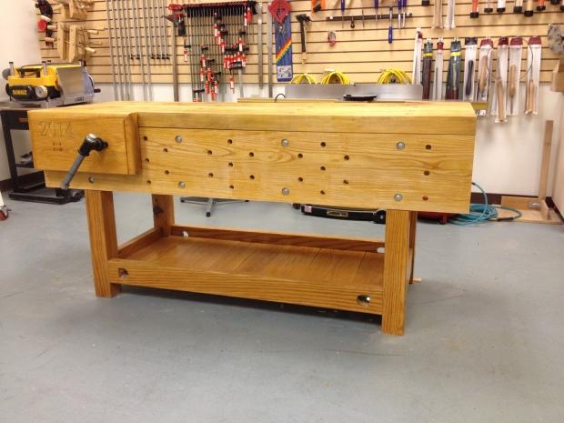 woodworker workbench