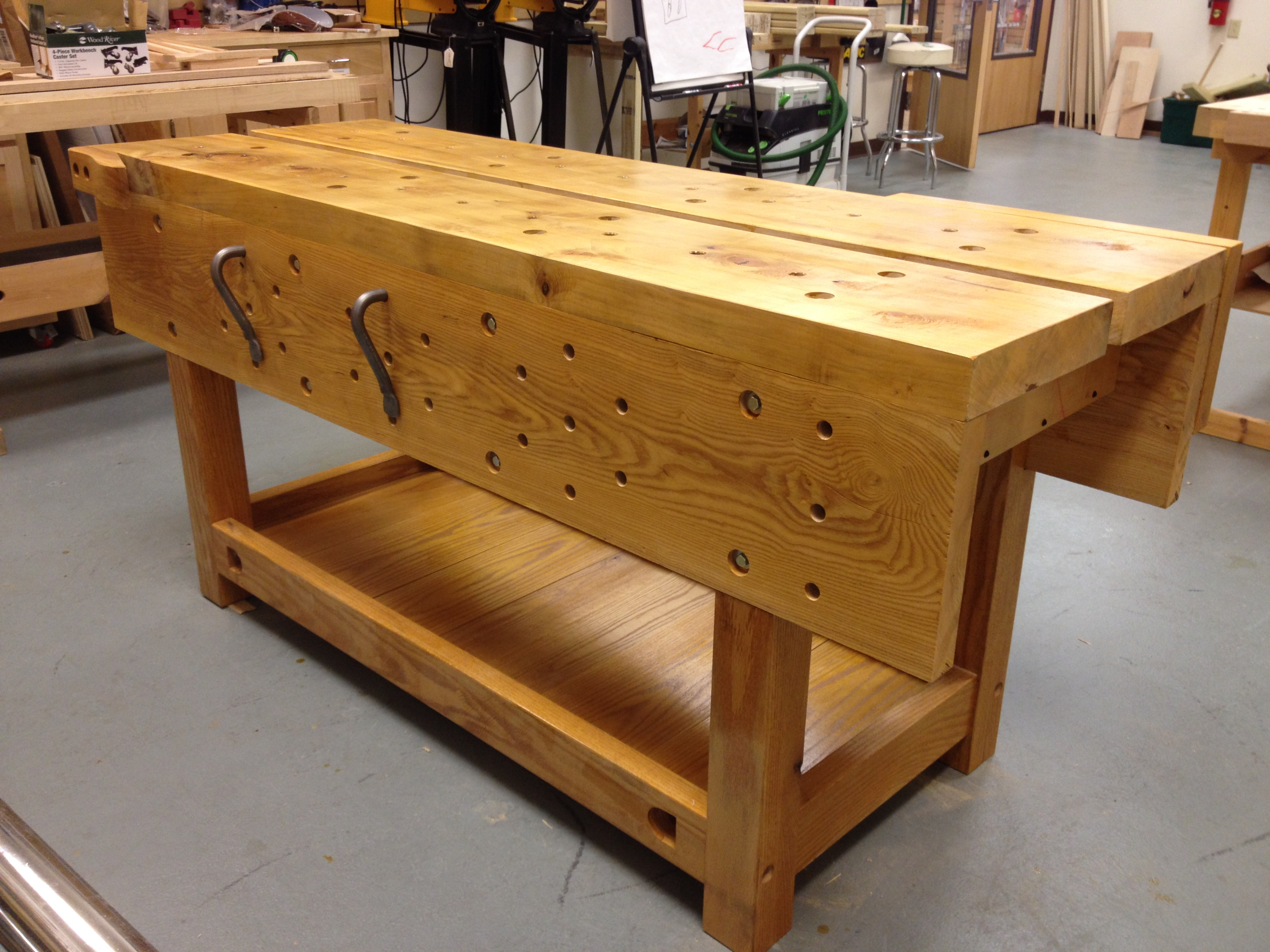 Nicholson Bench Project Shellac On A Workbench A