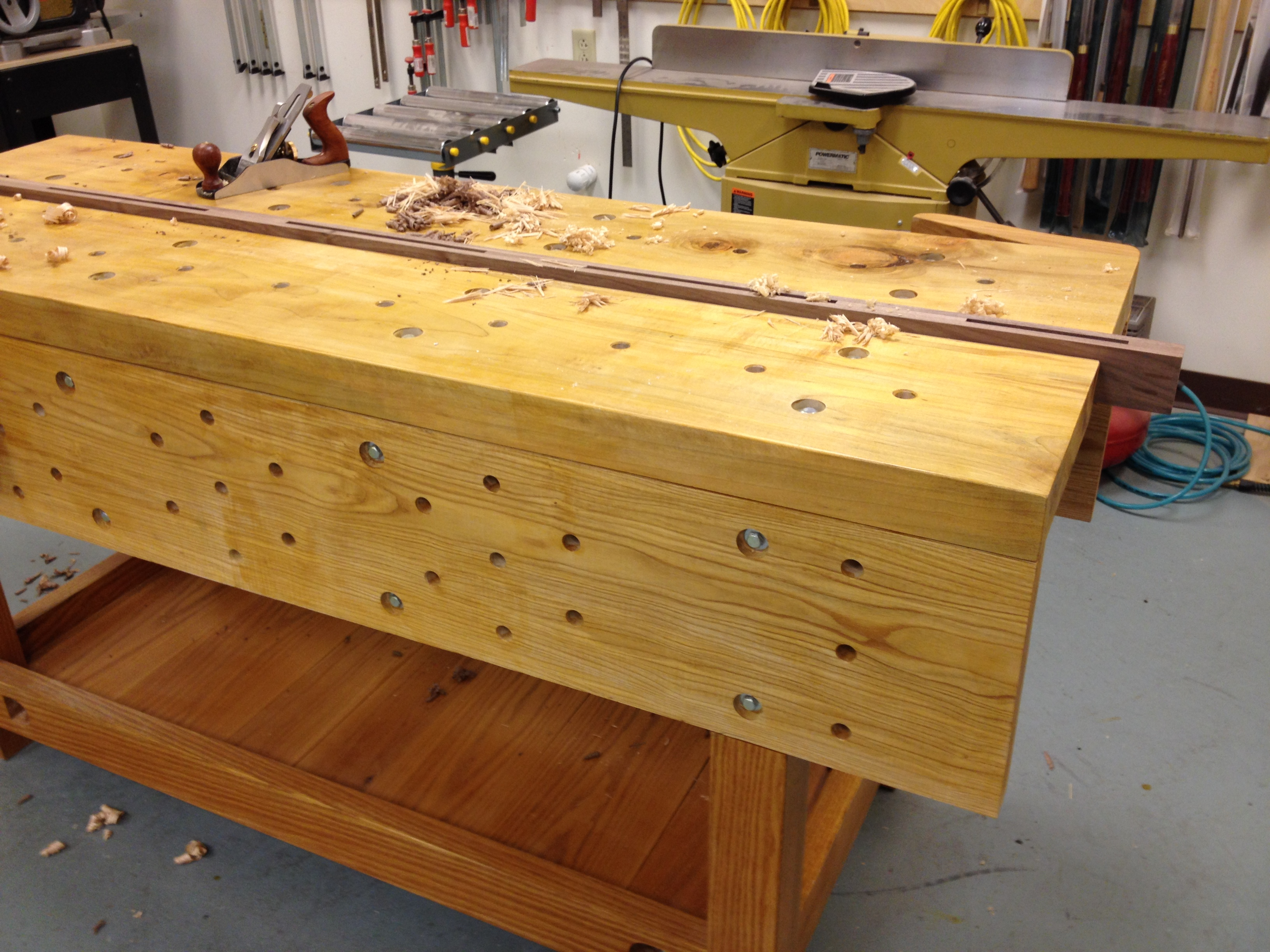 Nicholson Bench Project – A gallery | A Woodworker's Musings