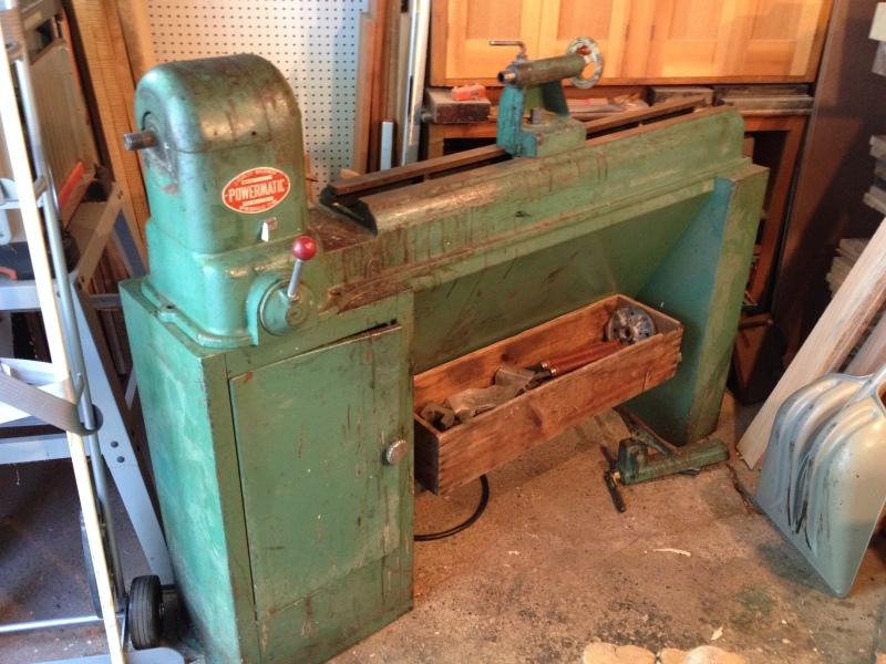 powermatic 45 wood lathe