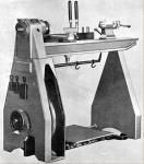 Larvic treadle lathe made in England after WWII to help in the occupational therapy of wounded British Soldiers.