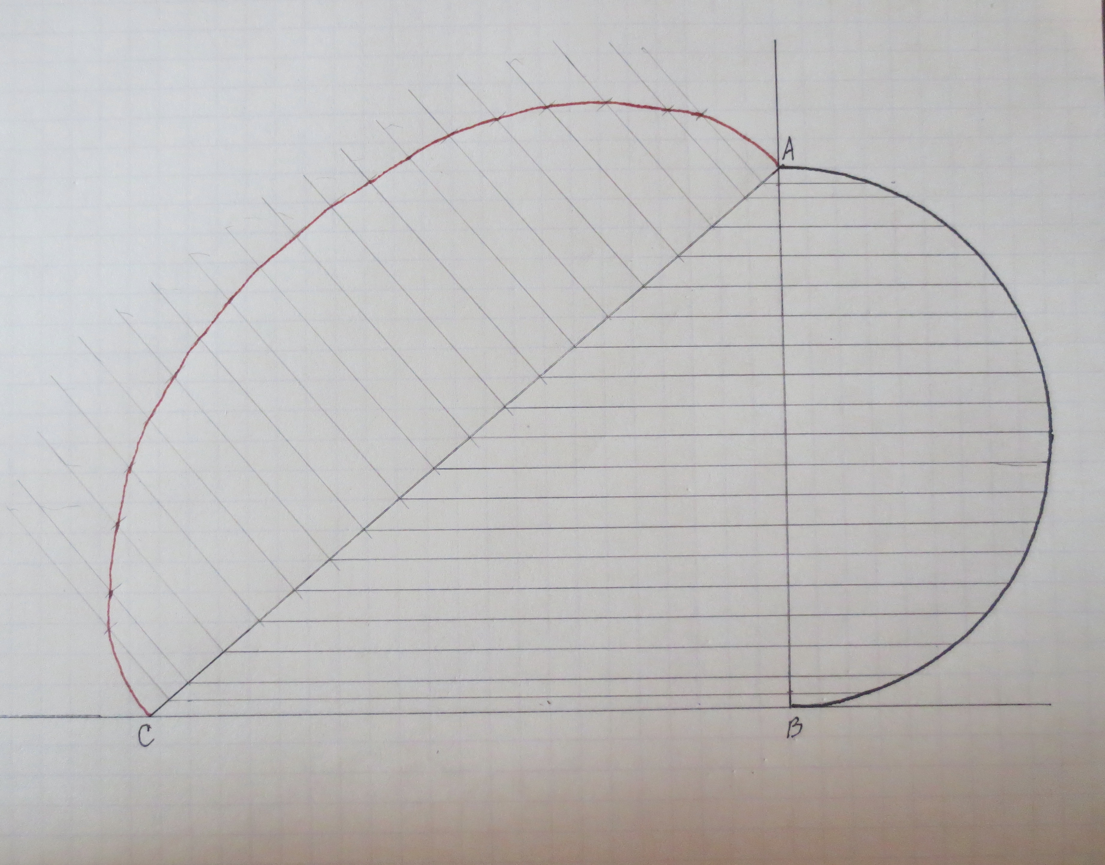 Line Drawing Diamond : Drawing ellipses a woodworker's musings