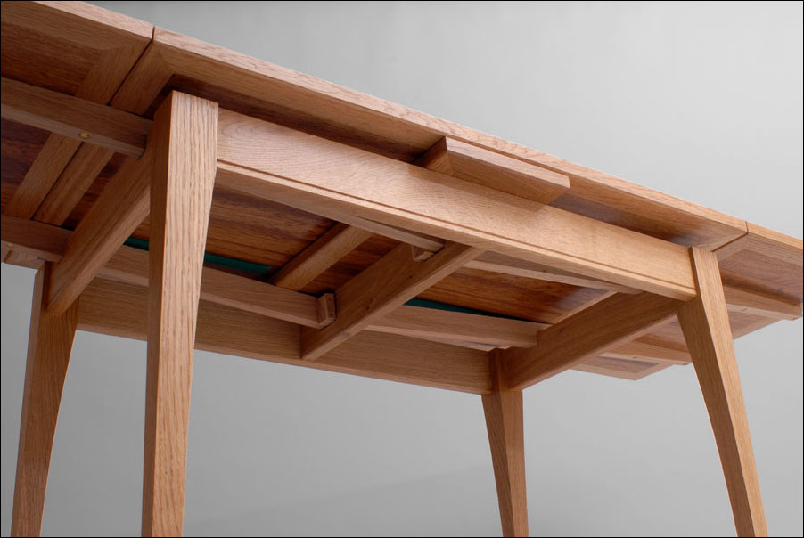 Dutch Pull Out Table A Woodworkers Musings