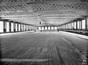 Mould loft at Harland and Wolff