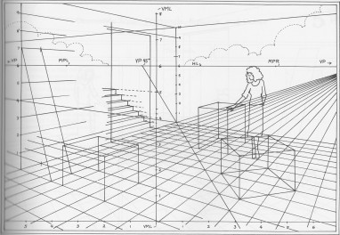 "From ""Basic Perspective Drawing"" by John Montague"