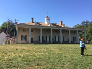 Making sure that the maintenance work is being done correctly at Mount Vernon